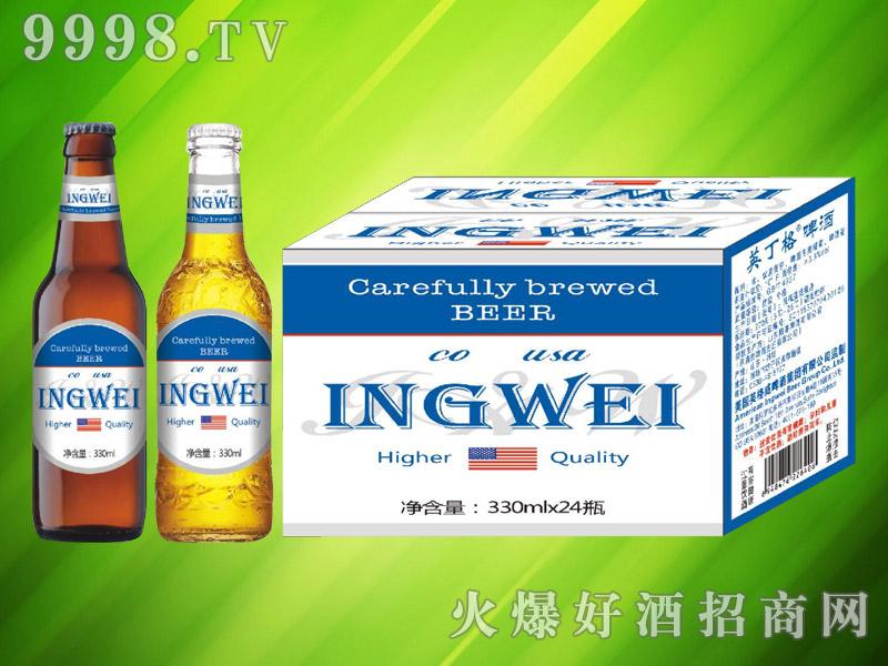 美国英格威精酿啤酒330ml×24瓶(蓝)