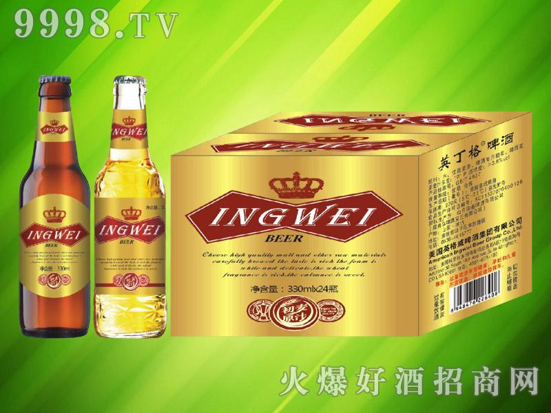 美国英格威精酿啤酒330ml×24瓶(金)