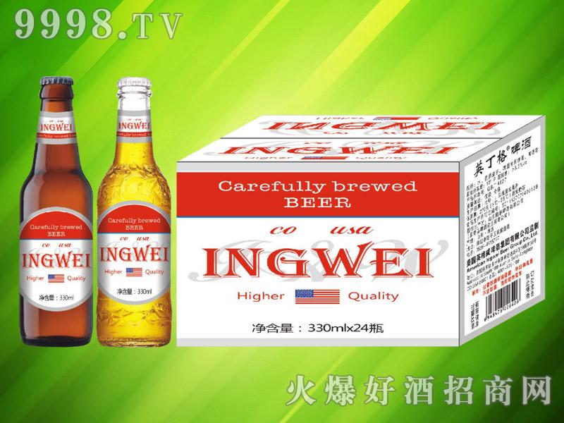 美国英格威精酿啤酒330ml×24瓶(红)