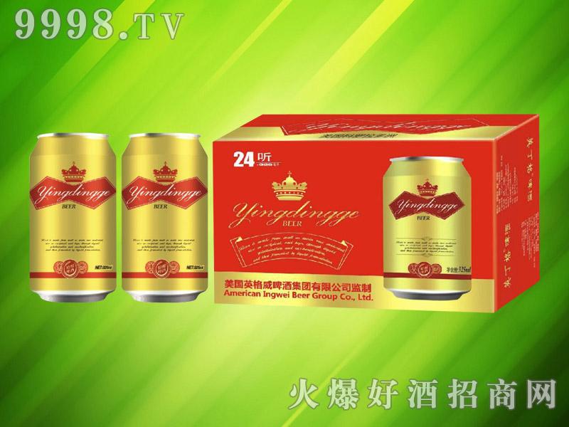 美国英格威精酿啤酒325ml×24罐(金)
