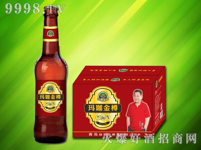 玛咖金樽啤酒330ml×24瓶