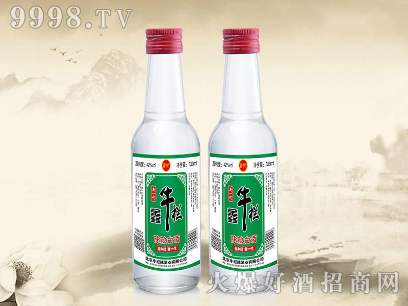 鑫牛栏陈酿白酒52°42°330ml