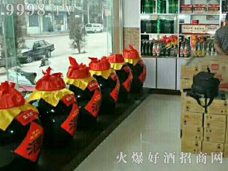 北京老烧坊散酒加盟