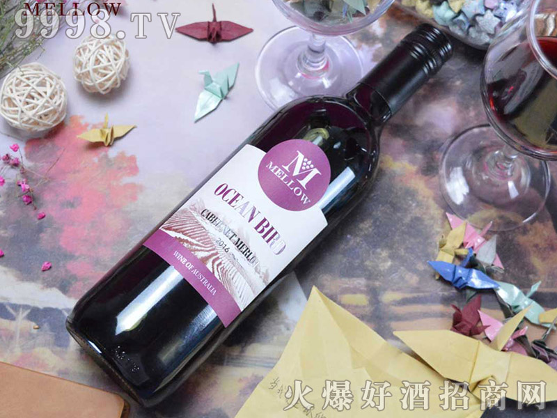 美露海鸟干红葡萄酒