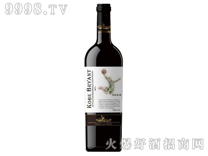 科比布莱恩特-KB-A12干红葡萄酒