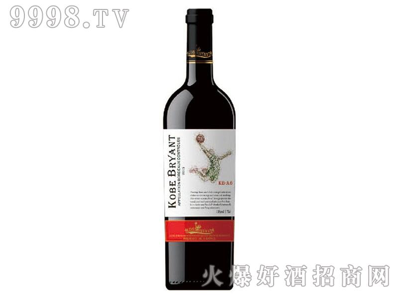 科比布莱恩特-KB-A6干红葡萄酒
