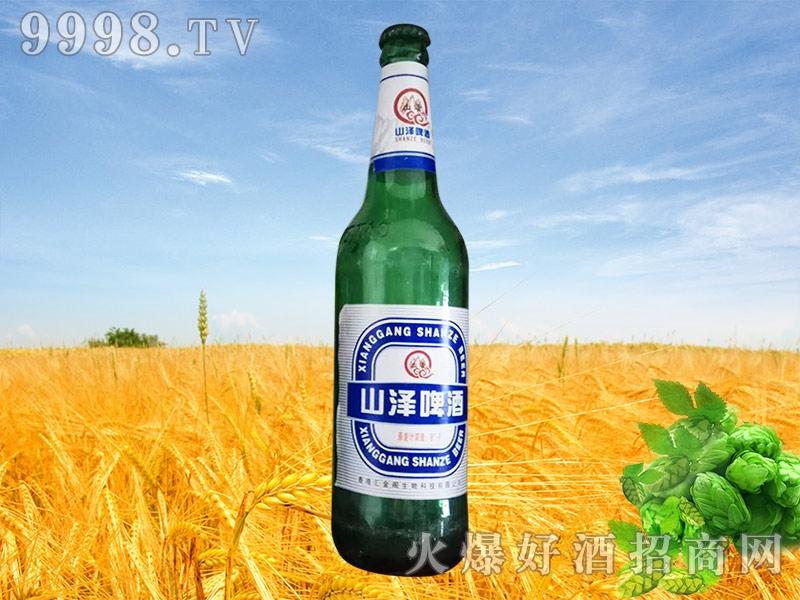 山泽啤酒600ml塑包