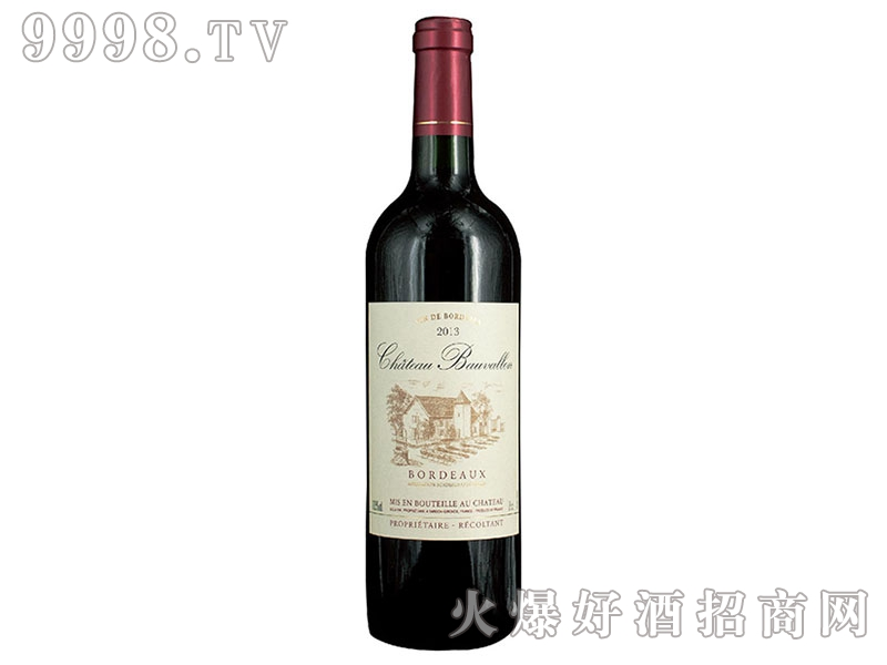 宝维龙城堡红葡萄酒
