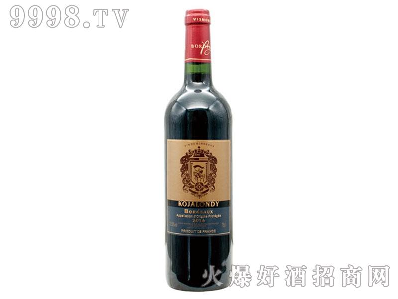 科嘉隆蒂干红葡萄酒-红酒招商信息