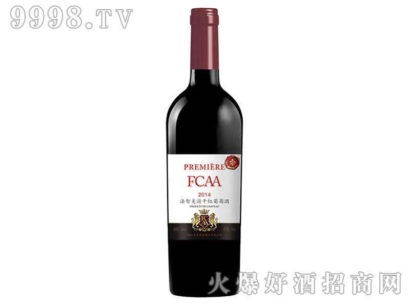 法智美澳干红葡萄酒2014白标