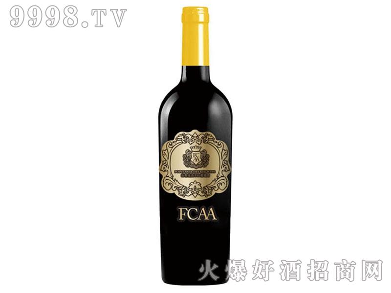 法智美澳干红葡萄酒花标