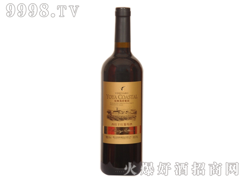 裕雅海岸葡园-西拉干红葡萄酒