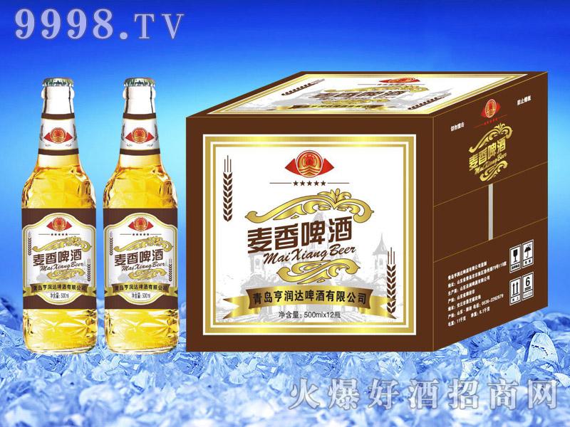 亨润达麦香啤酒500ml