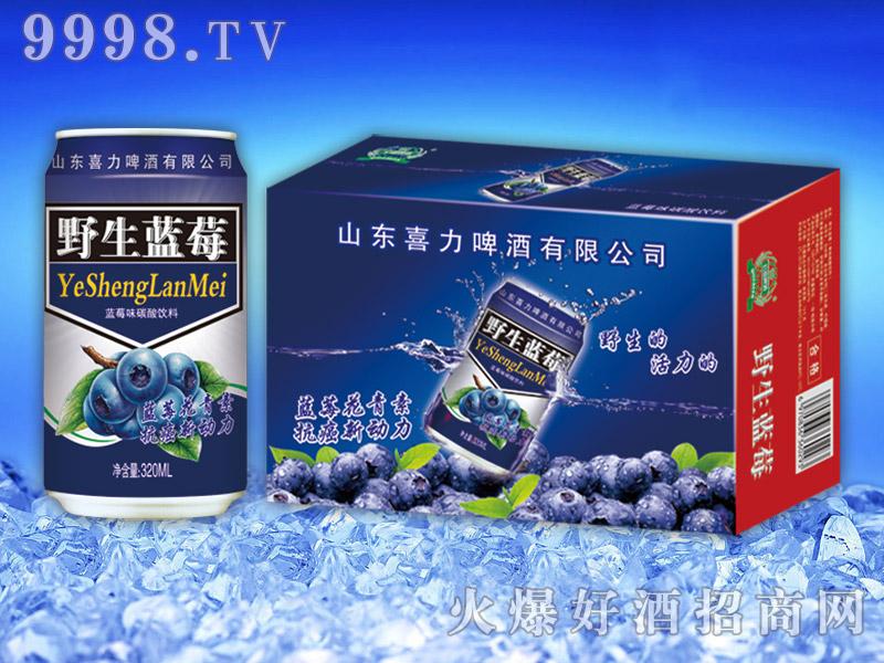 野生蓝莓果味饮料320ml×24罐