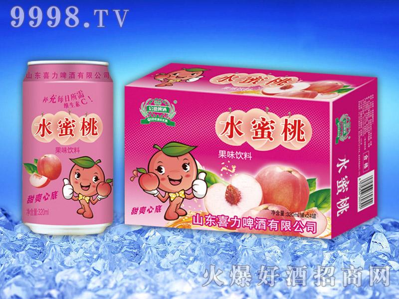水蜜桃果味饮料320ml×24罐