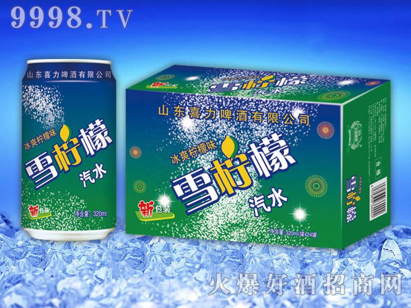 雪柠檬汽水320ml×24罐