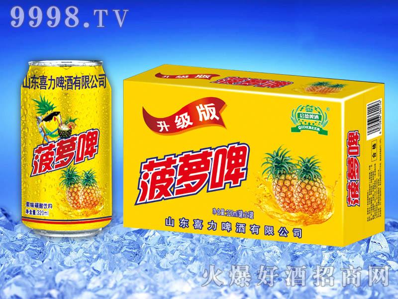 菠萝啤果味饮料320ml×24罐