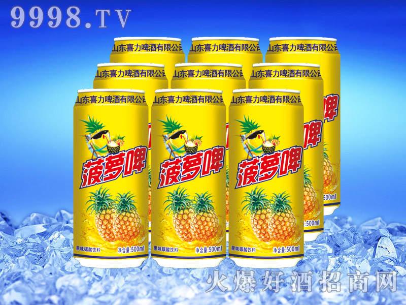 菠萝啤果味饮料500ml
