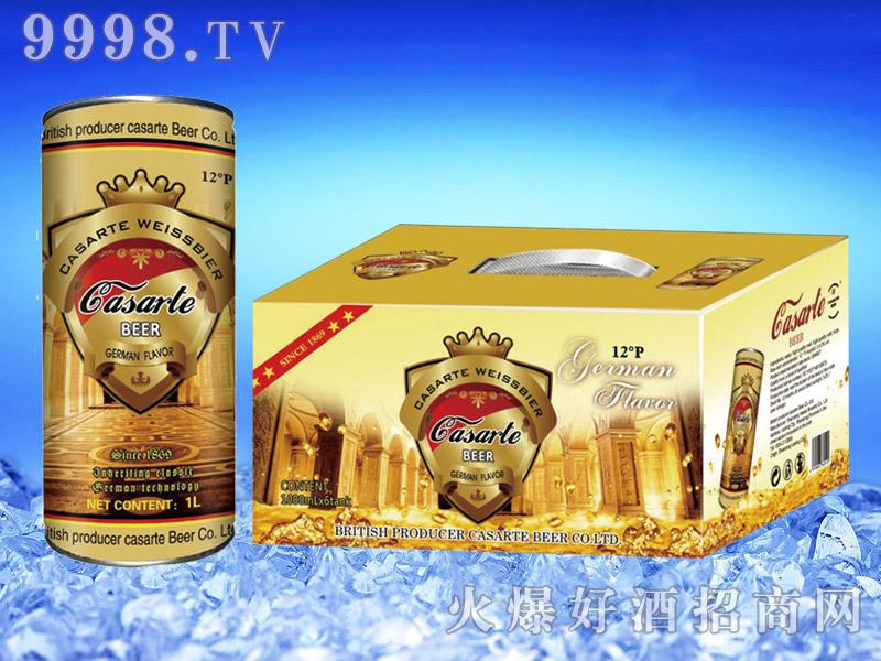 英国卡萨帝精酿白啤1L×6桶