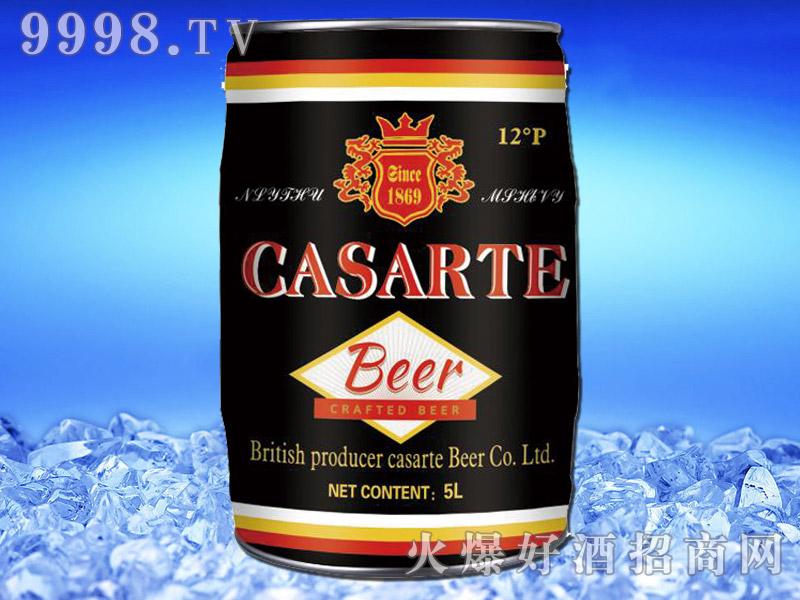 英国卡萨帝精酿黑啤5L