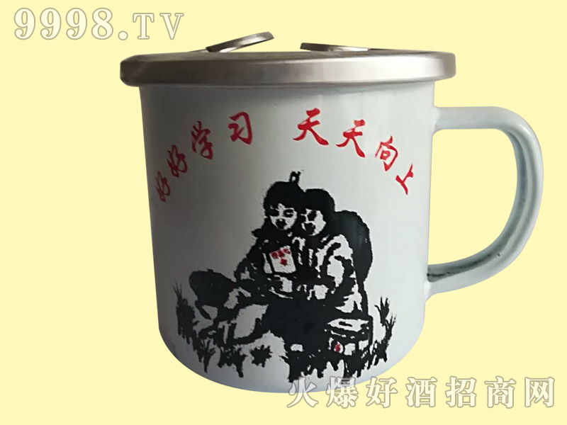 大茶缸酒175ml(白)