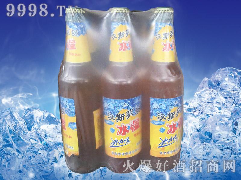 汉斯爽动冰橙碳酸饮料