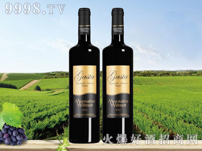 咖斯达添普兰尼洛赤霞珠橡木红葡萄酒-红酒招商信息