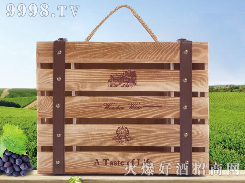 拉莫尔六瓶装木盒