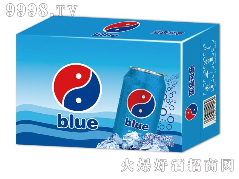 蓝零饮料蓝色可乐箱装