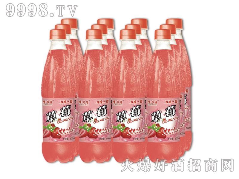 蓝零饮料草莓味