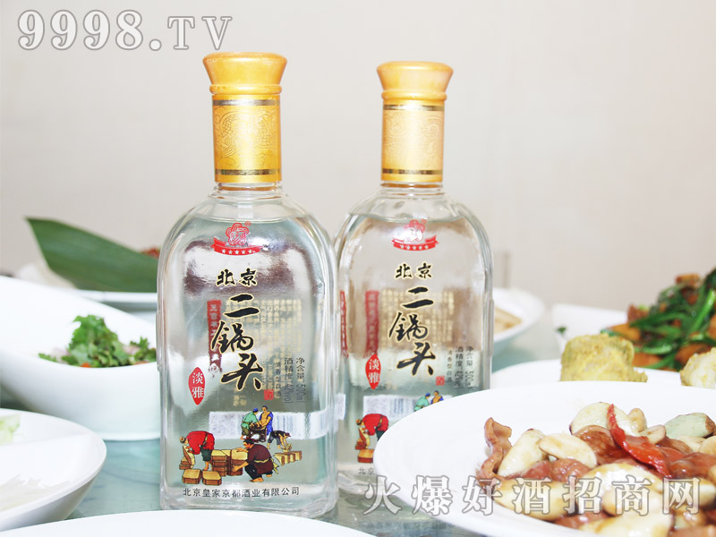 京都北京二锅头酒・淡雅42度500ml