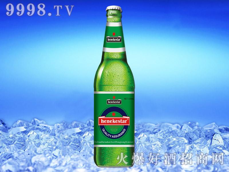 喜力之星啤酒(绿瓶)