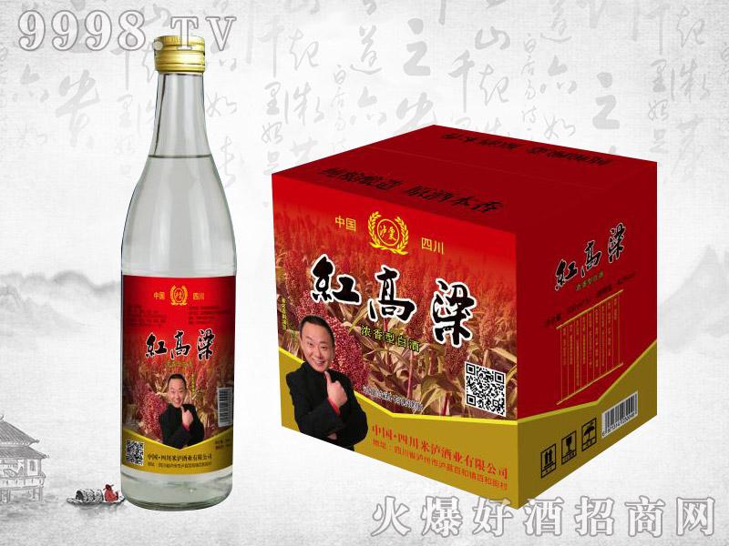 红高粱酒42度500ml