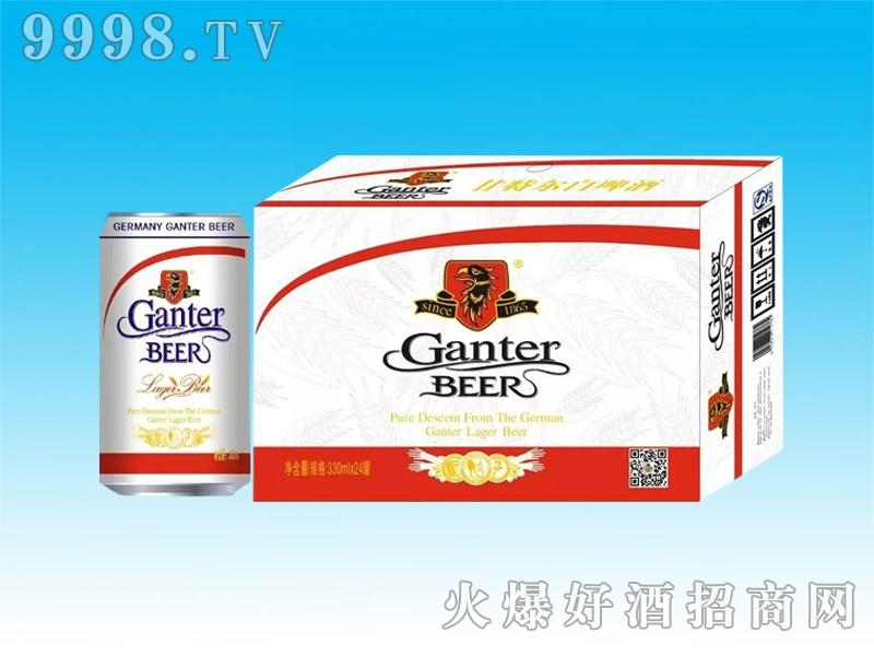 甘特尔白啤酒罐装330ml
