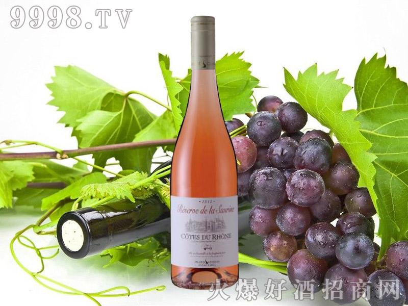 索海纳典藏2012玫瑰红葡萄酒
