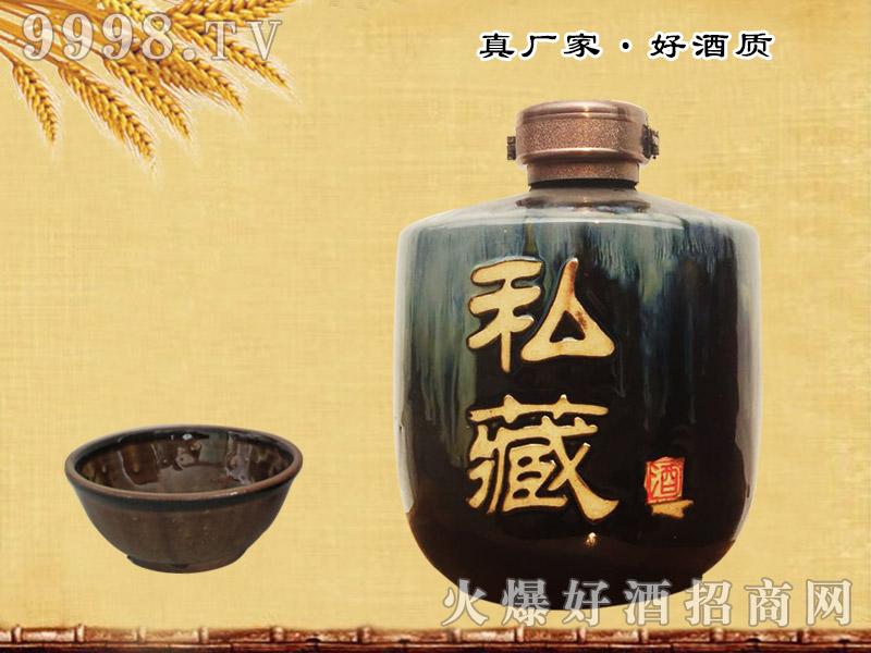 老土酒私藏(黑坛)