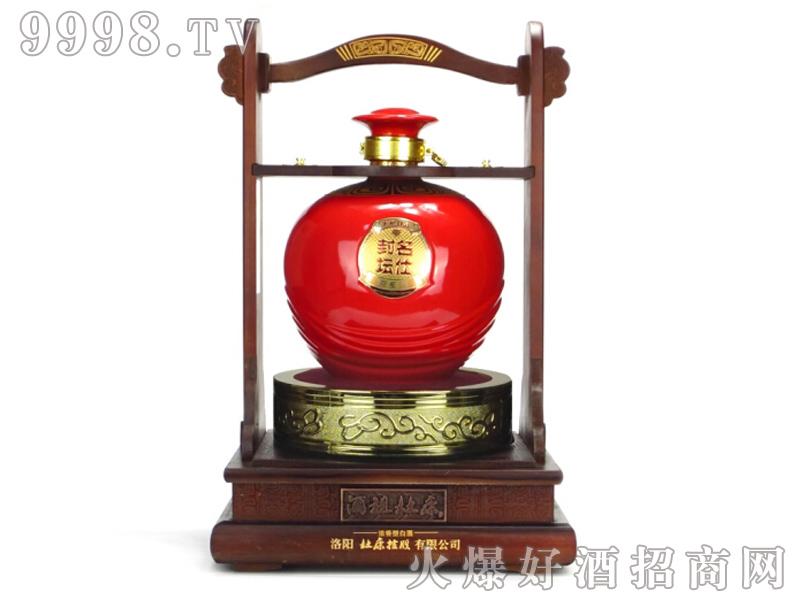酒祖杜康名仕封坛红瓷-白酒招商信息