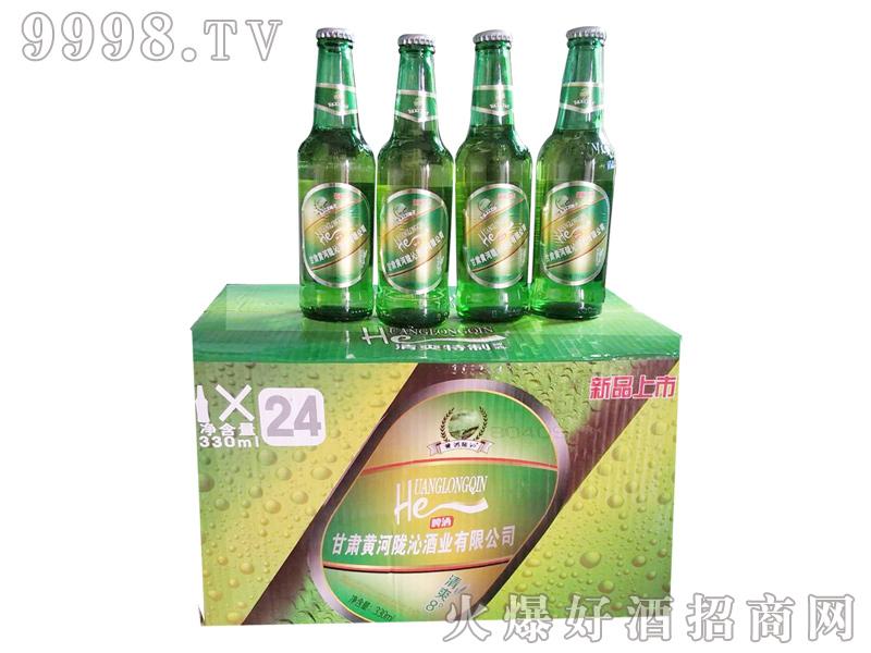 甘肃黄河陇沁啤酒330ml