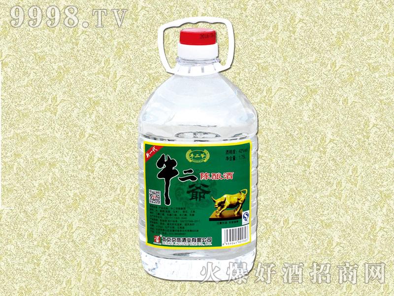 牛二爷陈酿酒·小桶42度1.75L