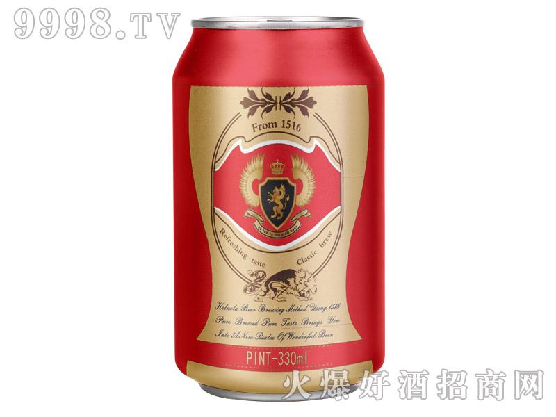 科罗拉啤酒10°330ml(红)