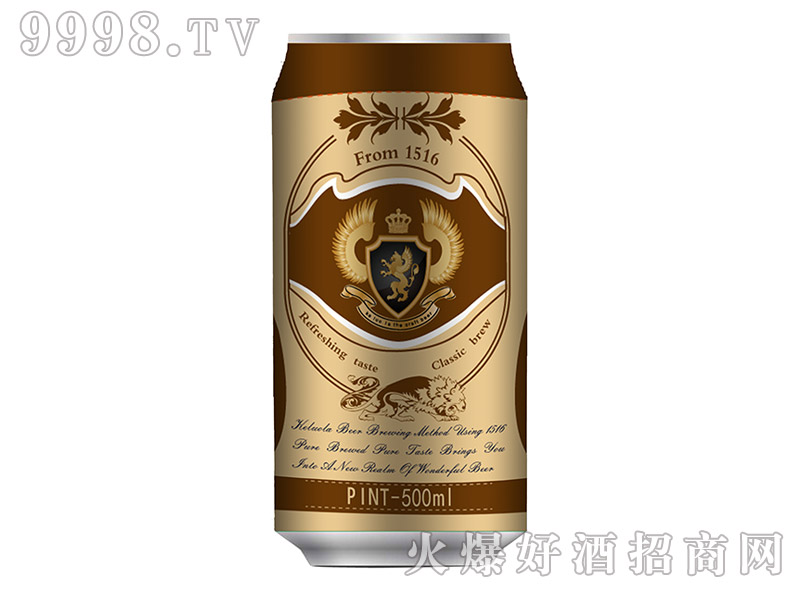 科罗拉啤酒500ml(金)