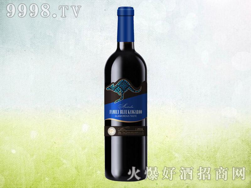 澳族酒庄蓝袋鼠干红葡萄酒