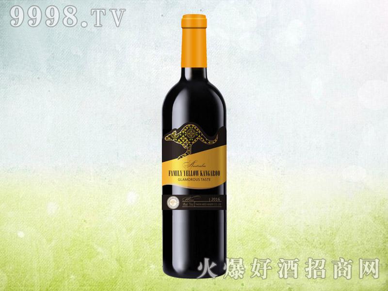 澳族酒庄黄袋鼠干红葡萄酒