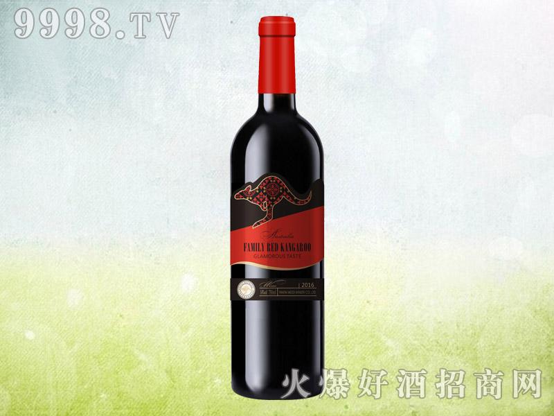 澳族酒庄红袋鼠干红葡萄酒