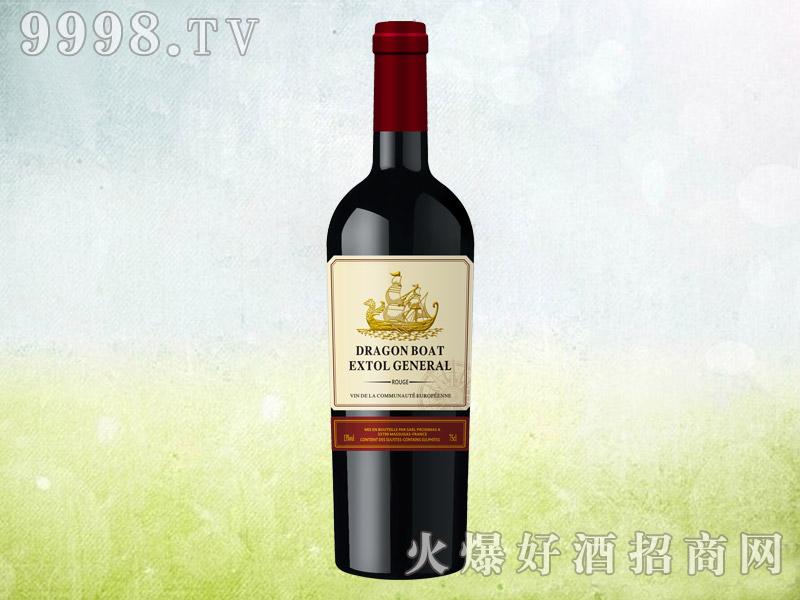 龙船颂水手干红葡萄酒750ml