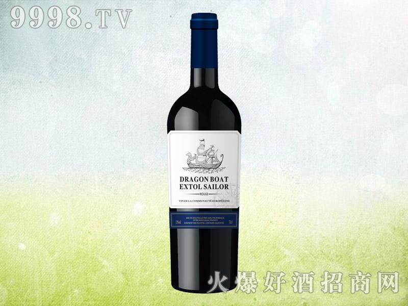 龙船颂将军干红葡萄酒750ml