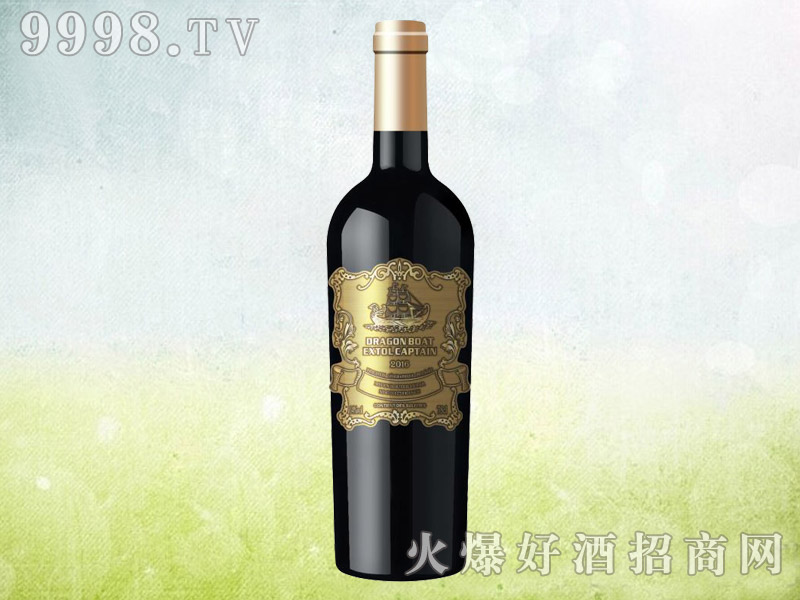 龙船颂船长干红葡萄酒750ml