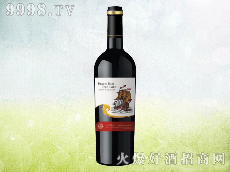 龙船颂水手干红葡萄酒