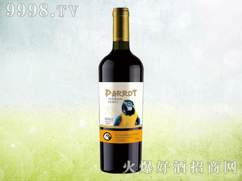 澳族酒庄鹦鹉西拉干红葡萄酒