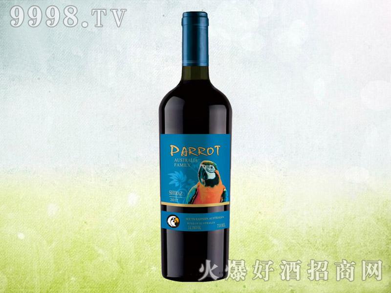 澳族酒庄鹦鹉干红葡萄酒